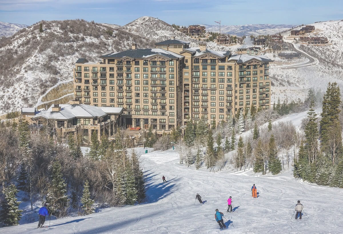 Park City ski in ski out homes and condos