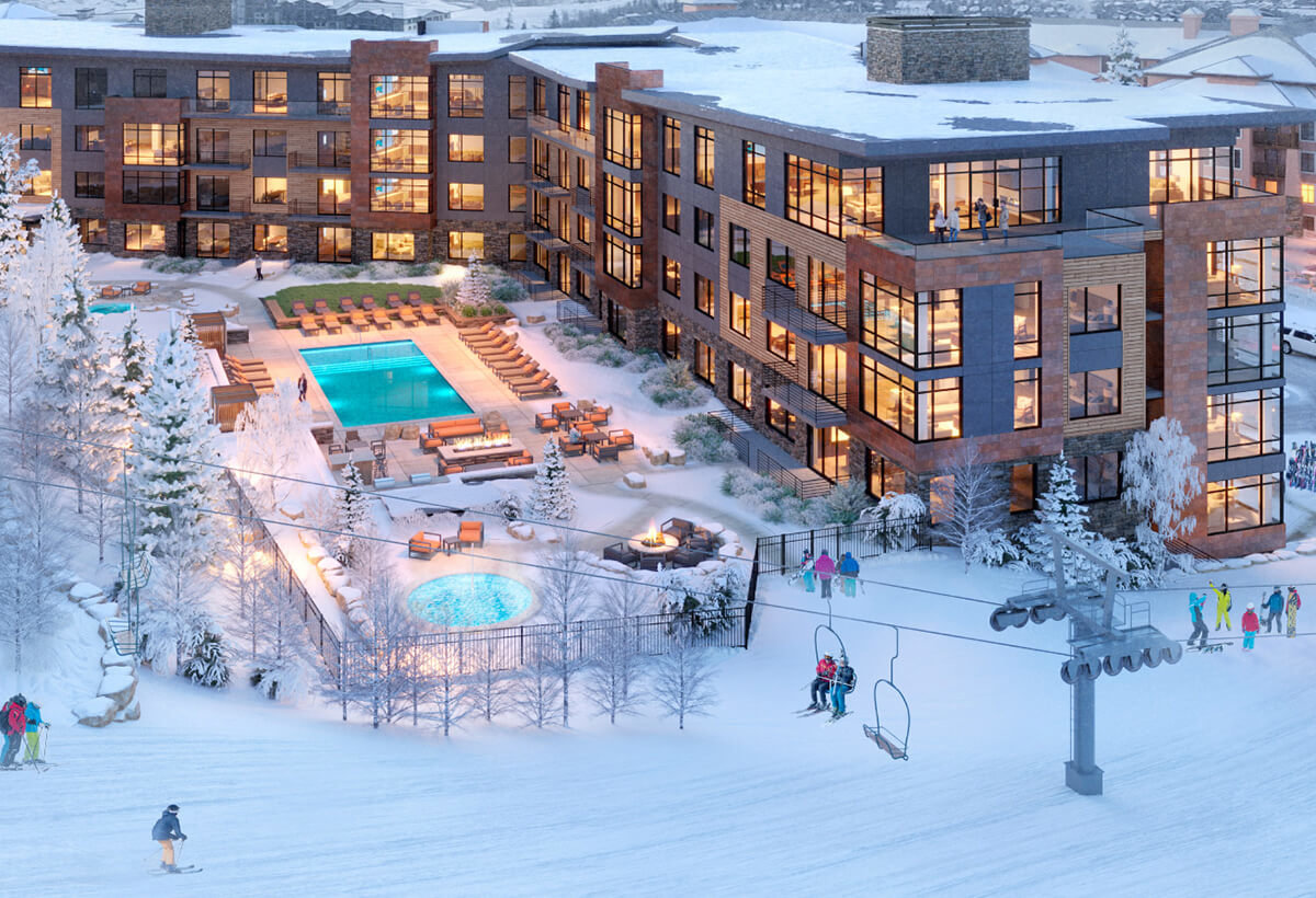 Canyons ski and snowboard homes and condos